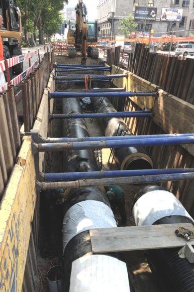 Tubazioni per acquedotti e fluidi termovettori
